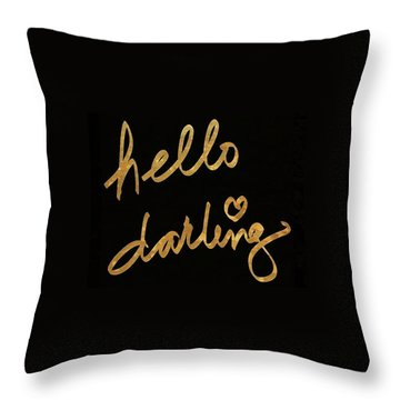Darling Bella I Throw Pillow