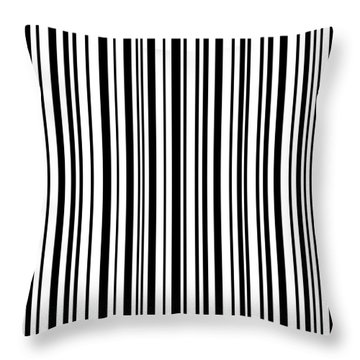 Throw Pillow featuring the digital art Lines 7 by Bruce Stanfield