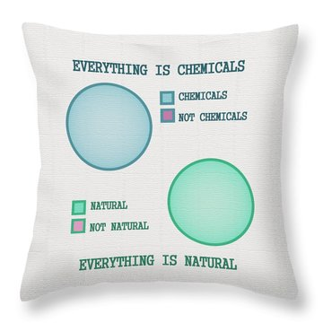 Everything Is Throw Pillow