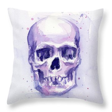 Skulls Throw Pillows