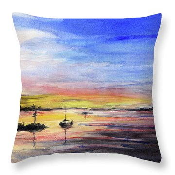 Waterfront Throw Pillows
