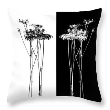 Organic Enhancements 7 Throw Pillow