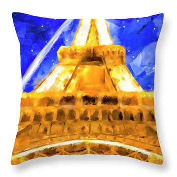 Paris Ascending Throw Pillow