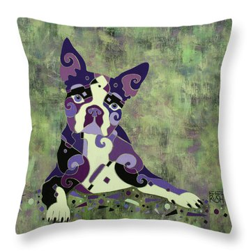 On Stand By Throw Pillow
