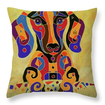 I'm Puzzled Too Throw Pillow