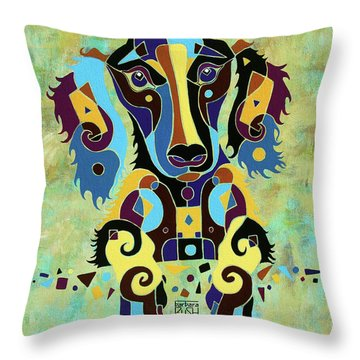I'm Really Puzzled Throw Pillow