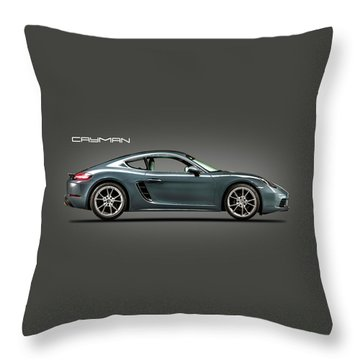 The Cayman Throw Pillow
