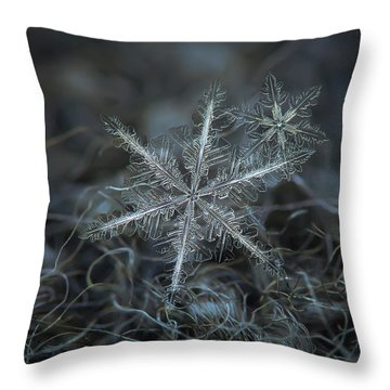 Throw Pillow featuring the photograph Stars In My Pocket Like Grains Of Sand by Alexey Kljatov