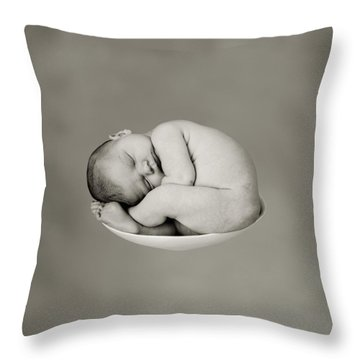 Sally Pearl Throw Pillow by Anne Geddes