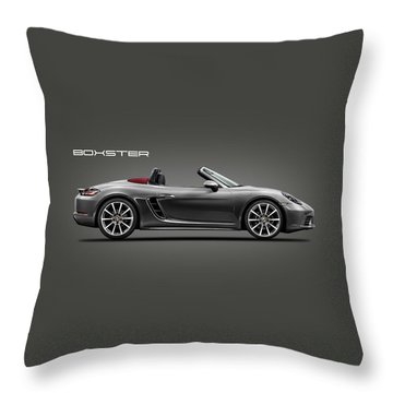 The Boxster Throw Pillow