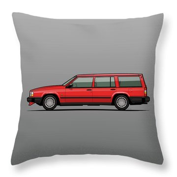 Automotive Art Series Throw Pillows