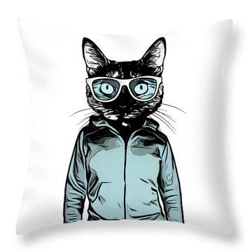 Feline Throw Pillows