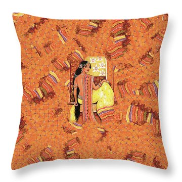 Bharat Throw Pillow