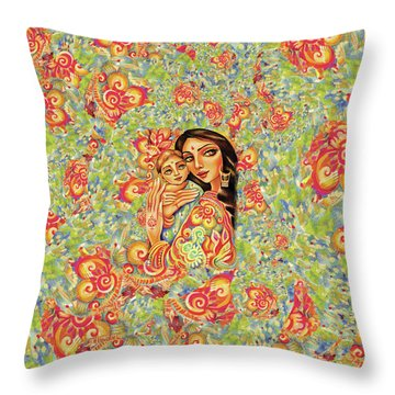Goddess Blessing Throw Pillow