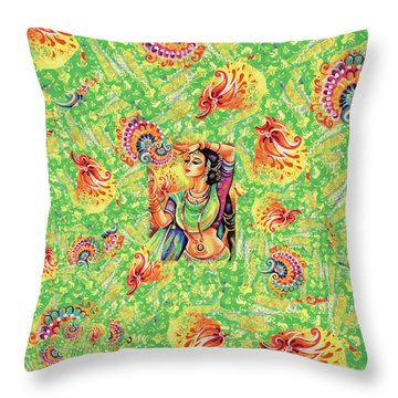 The Dance Of Tara Throw Pillow