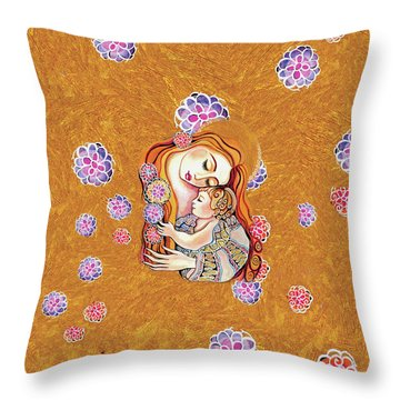 Little Angel Sleeping Throw Pillow