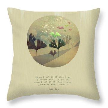 Phoenix-like Throw Pillow