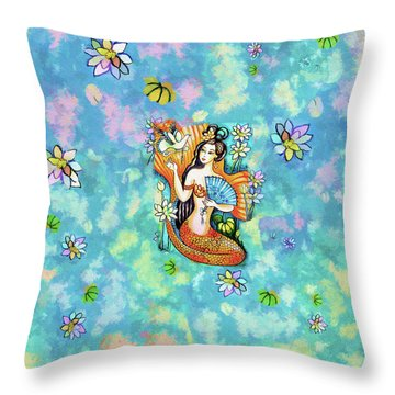 A Letter From Far Away Throw Pillow