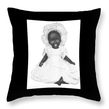 So Clean And White Throw Pillow