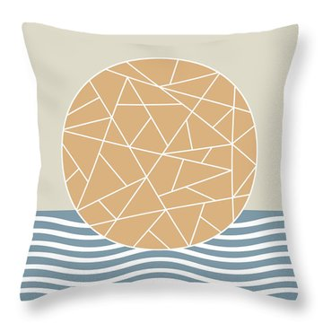 Maybe The Sea Throw Pillow