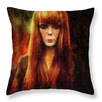 Star Dreamer Throw Pillow