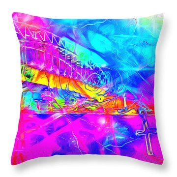 Lord I Need You Time Throw Pillow