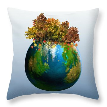 There Is Only One Throw Pillow