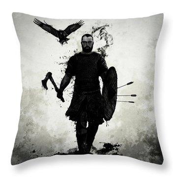To Valhalla Throw Pillow