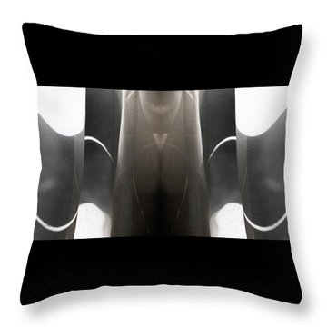Curve Over Curve - Throw Pillow