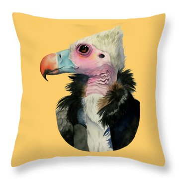 Odd Beauty Throw Pillow by NamiBear