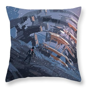 That Thou Art Peter Matthew Chapter 16 Throw Pillow