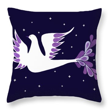 Prince Of Peace Throw Pillow