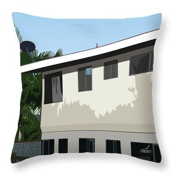 Apartment Shadows Throw Pillow