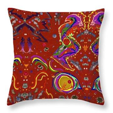 Xtine's Nebula 1 Throw Pillow