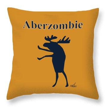 Aberzombie Throw Pillow