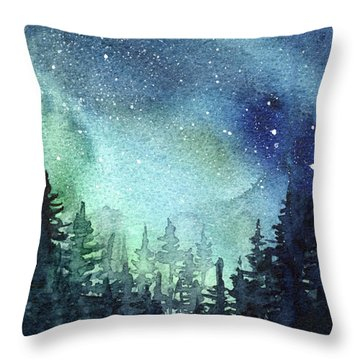 Nebula Throw Pillows