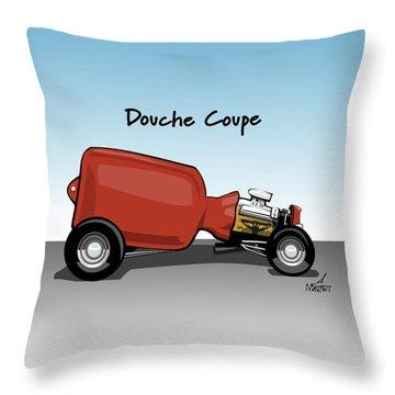 Douche Coupe Throw Pillow