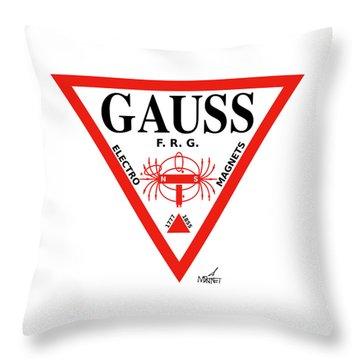 Gauss Throw Pillow