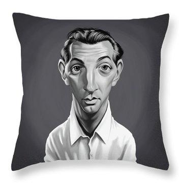 Celebrity Sunday - Robert Mitchum Throw Pillow