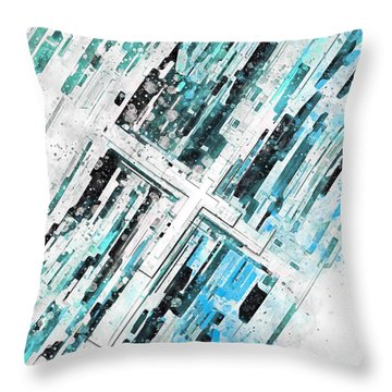 Direction Throw Pillow