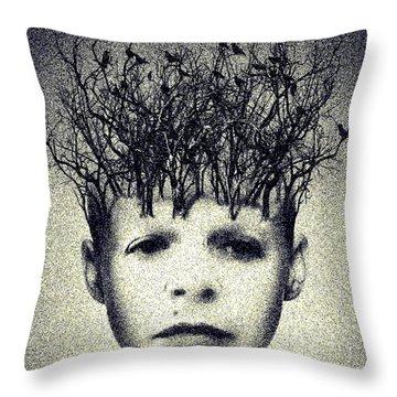 My Mind Throw Pillow