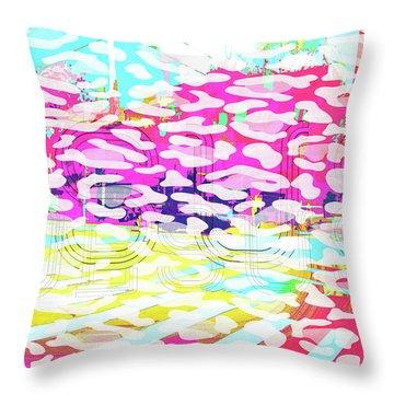 Straightforward Throw Pillow