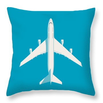 Airline Throw Pillows