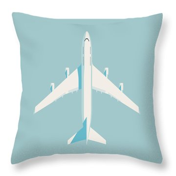 Airlines Throw Pillows