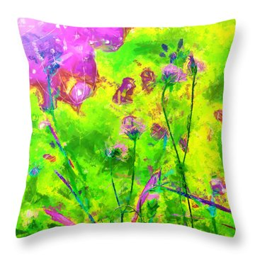 Calleth Throw Pillow