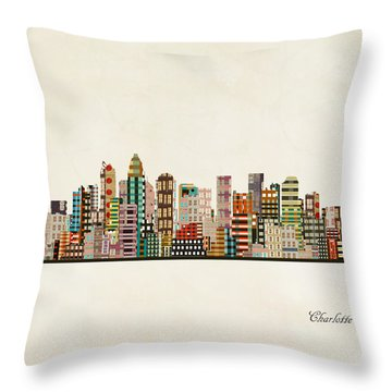 Charlotte Throw Pillows