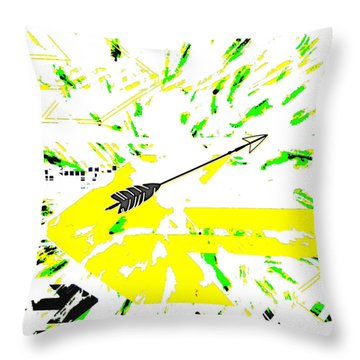 The Arrow Of Love In Me Throw Pillow
