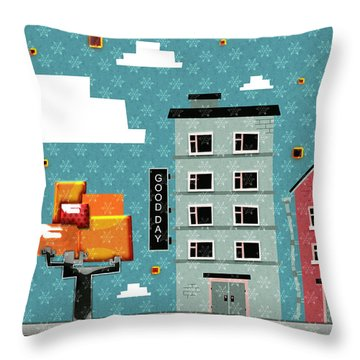 My Home My God Throw Pillow