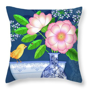 Cultivate Kindness Throw Pillow