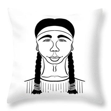 Minnehaha Throw Pillow